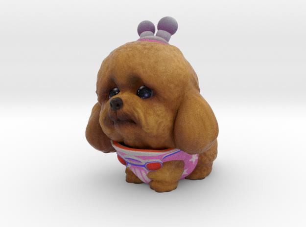 Alien Poodle in Full Color Sandstone