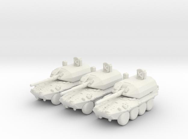 1:285 Scale Italian B1 Draco X3 in White Natural Versatile Plastic