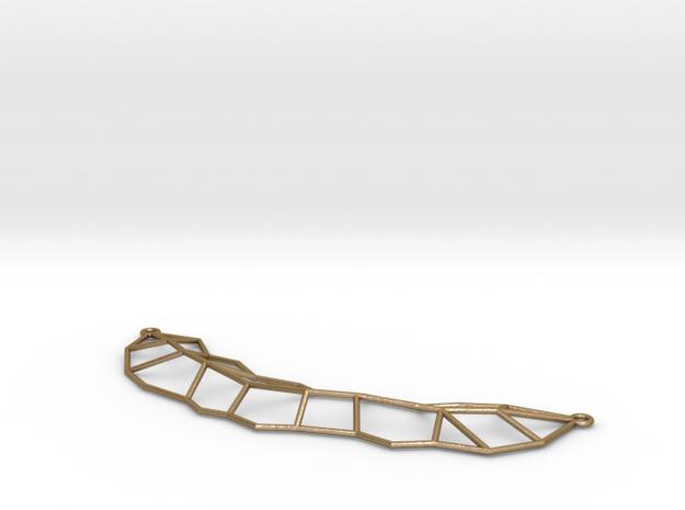 Leaf Necklace 3d printed