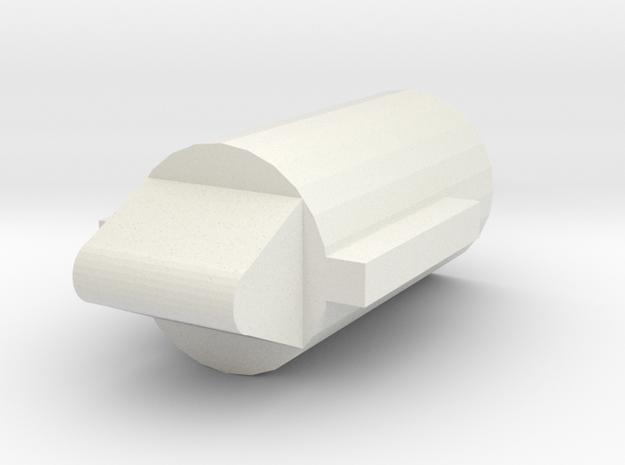 GL40 Plug pin (Part3 of 6) in White Natural Versatile Plastic