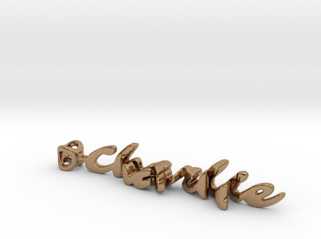 Twine Charlie/Shel in Polished Brass