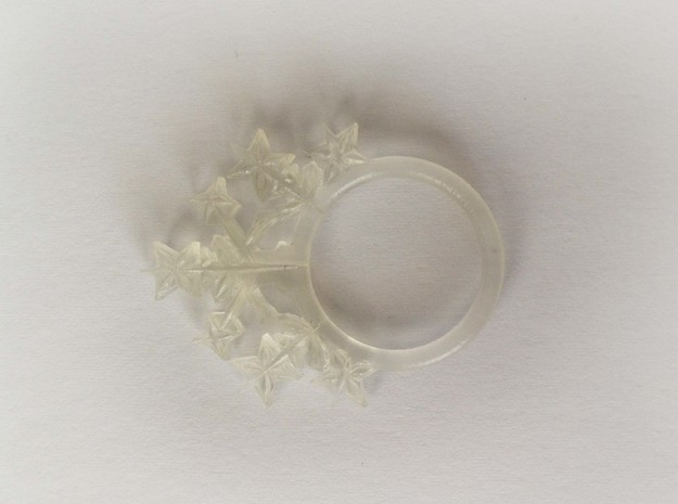Snowflake style 2 size 7 in Smooth Fine Detail Plastic