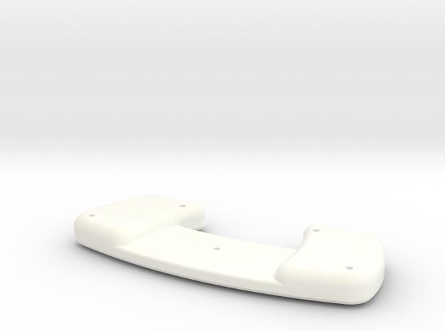 BoneClone CD32 - Bottom Case in White Processed Versatile Plastic