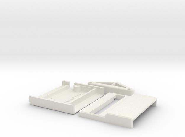 Commodore 64 Mini X-Pander Case in White Natural Versatile Plastic