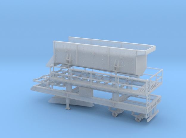 1/64th Portable Screen Plant trailer with walkways