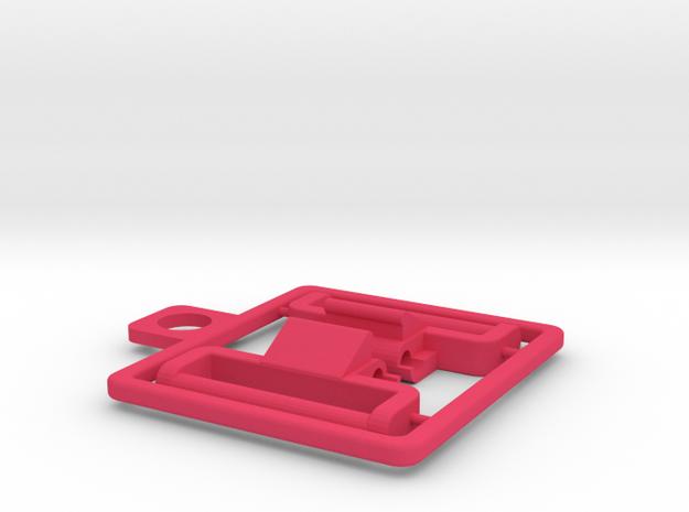1320 Baby GShock NATO adapters in Pink Processed Versatile Plastic