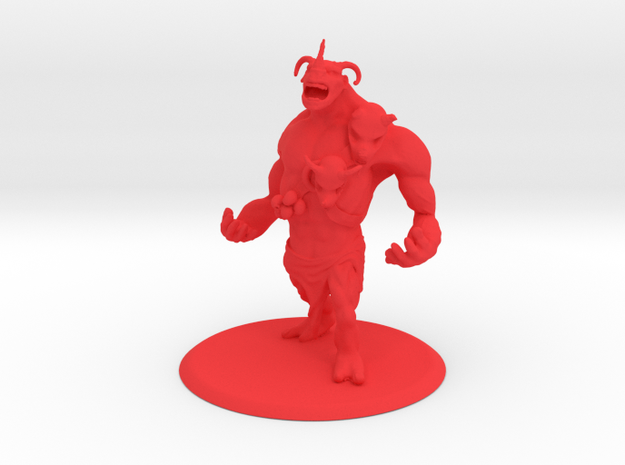 Brute Creature in Red Strong & Flexible Polished