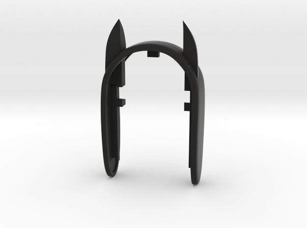 KEY FOB  BATMAN in Black Natural Versatile Plastic