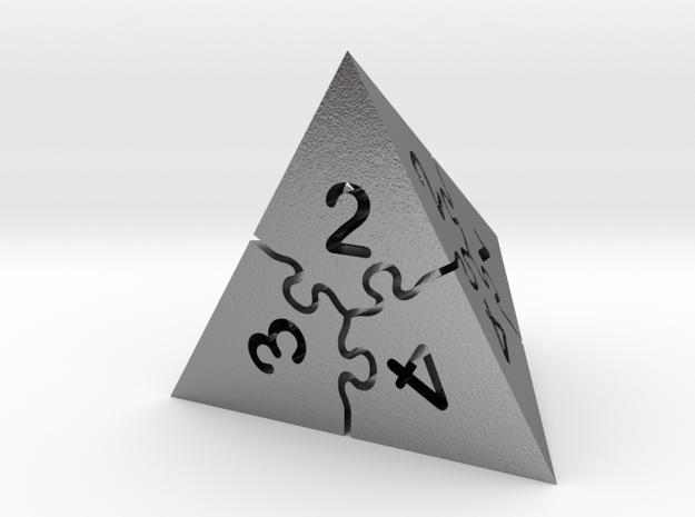 Jigsaw Puzzle D4 Dice