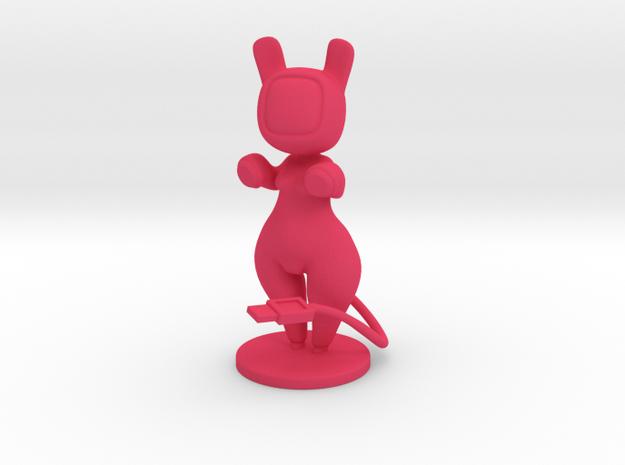 Astrobuns in Pink Processed Versatile Plastic