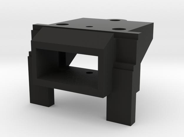 Atlas O Scale EMD GP7 & GP9 Coupler Mount (Open) in Black Natural Versatile Plastic