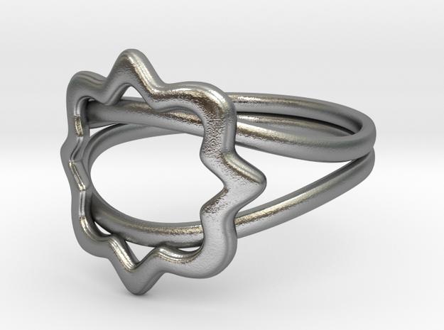 Phi Mu Quatrefoil ring