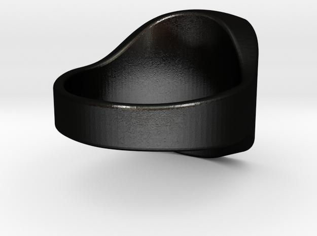 Royal Size 7 Custom in Matte Black Steel