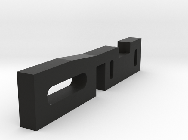 holder for One tactile switch for graflex/LS6 Clam in Black Strong & Flexible