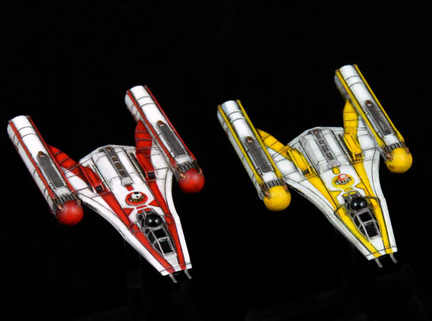 R2 & R5 Clone Wars inspired Y-wing 2-pack