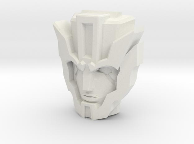 IDW Dinobot Strafe, narrow (Titans Return) in White Natural Versatile Plastic