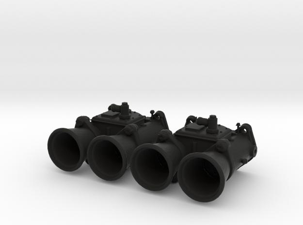 WEBER 40 DCOE Carburator - 1/10 in Black Natural Versatile Plastic