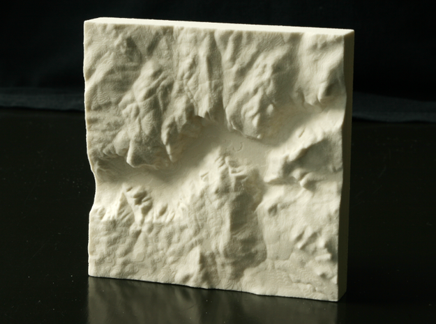 4'' Yosemite Valley, California, USA, Sandstone in Natural Sandstone