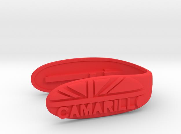 KEY FOB UNION CAMARILLO  in Red Processed Versatile Plastic