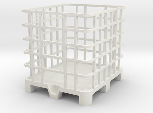 Palette 1000l IBC Container 1:32 1/2 in White Natural Versatile Plastic