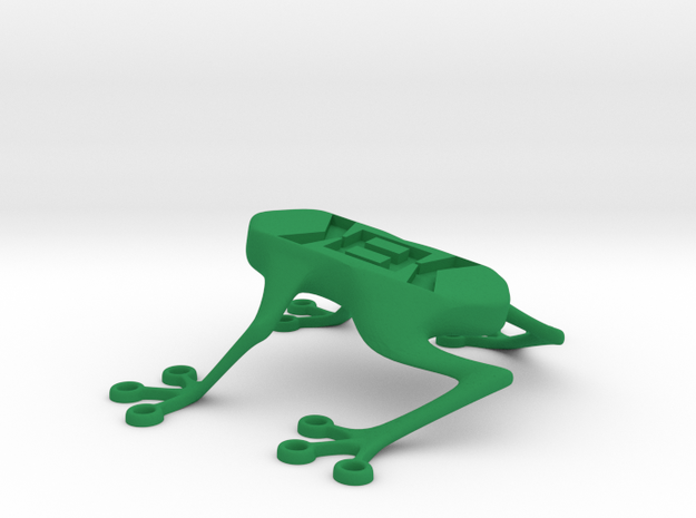 Kek Frog in Green Processed Versatile Plastic