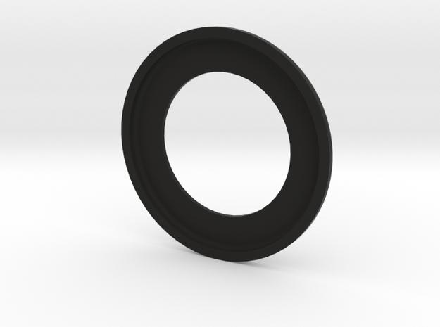 Low Profile Headset bearing cover for road bikes in Black Natural Versatile Plastic