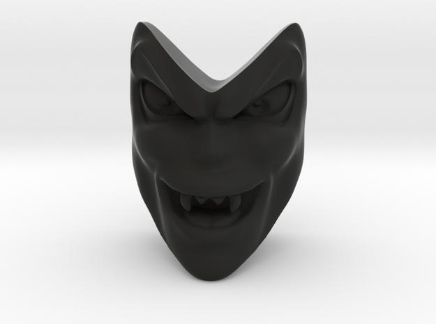 D&D Venger Evil Laugh Face in Black Strong & Flexible