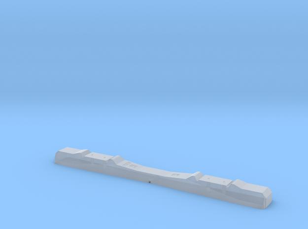 Betonschwelle Spur 0 für Wenz-Gleissystem in Smooth Fine Detail Plastic