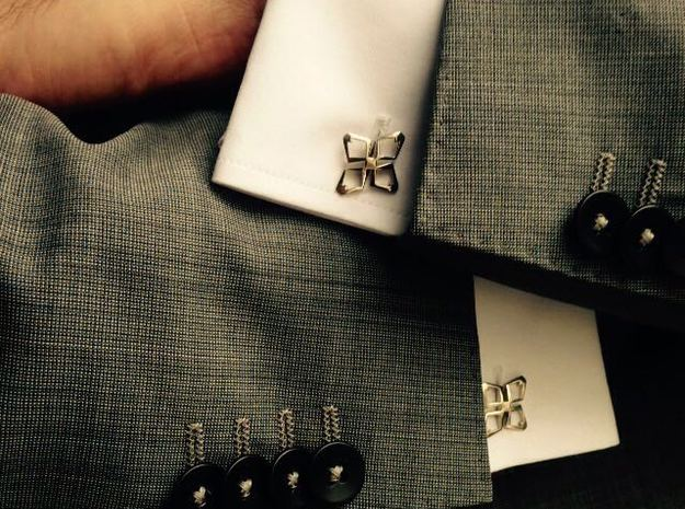 HEAD TO HEAD Ahead , Bend Cufflinks