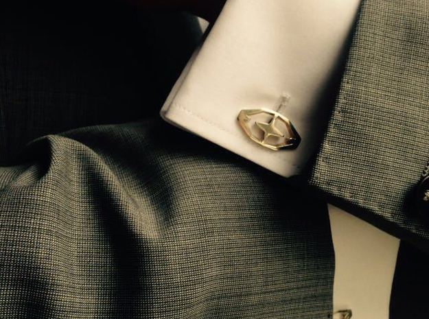 HEAD TO HEAD 44, Bend Cufflinks