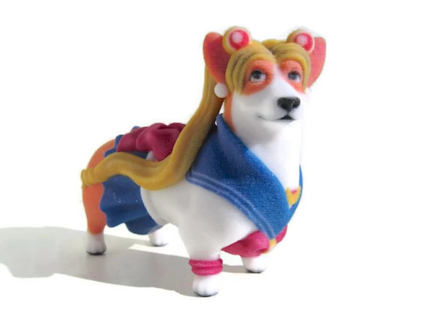 Sailor Moon Corgi