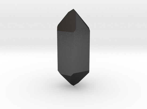 Quartz in Polished and Bronzed Black Steel