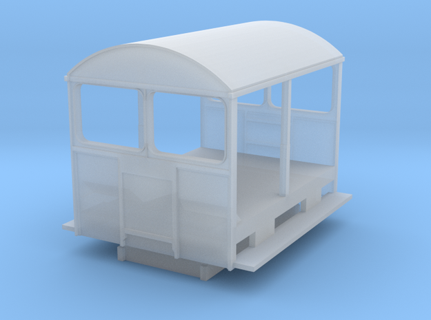 Wickham Trolley Car N (other gauges, lower price in Frosted Extreme Detail