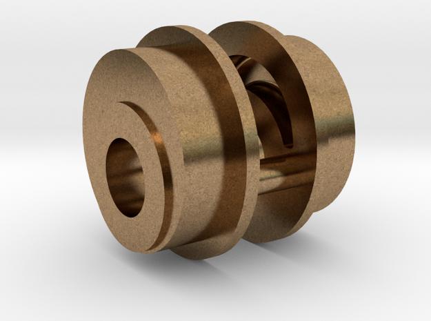 Mogul - Eccentric REV .625 Plus 1% in Natural Brass