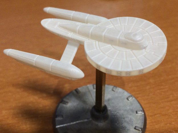 1/3125 Aspen Class Federation Frigate in Smooth Fine Detail Plastic