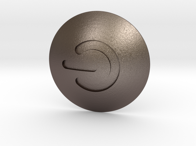 MAZDA Engine Cover | Power Symbol in Polished Bronzed Silver Steel