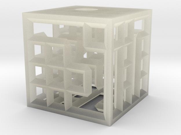 maze4c closed test 3d printed