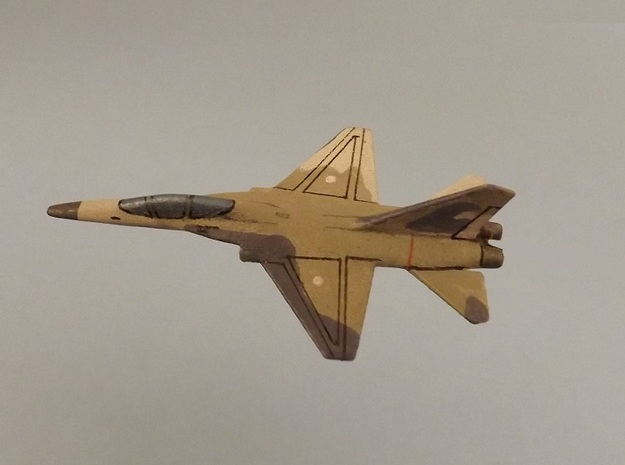 1/285 (6mm) Chin-Kuo Fighter (Taiwan) 3d printed