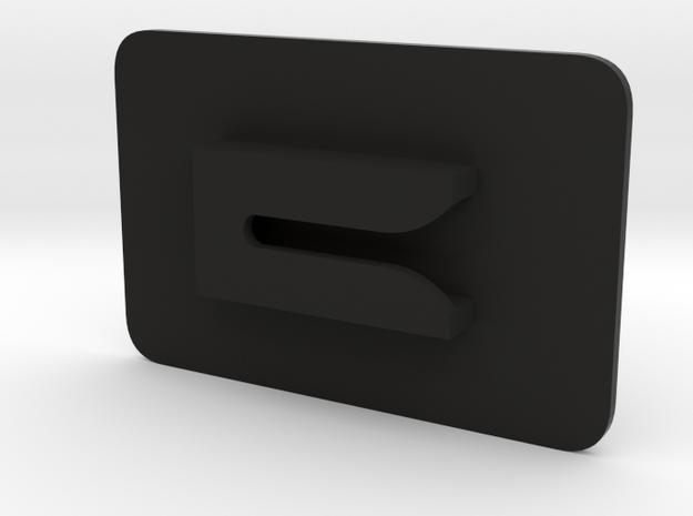 Tactical Universal Gun Clip in Black Natural Versatile Plastic