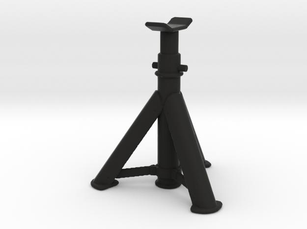 Car-Jack-Stand - 1/10 in Black Natural Versatile Plastic