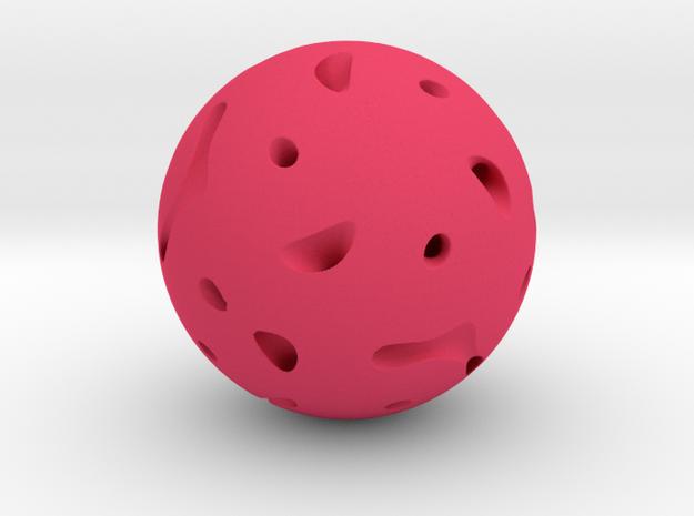 Orb Three in Pink Processed Versatile Plastic