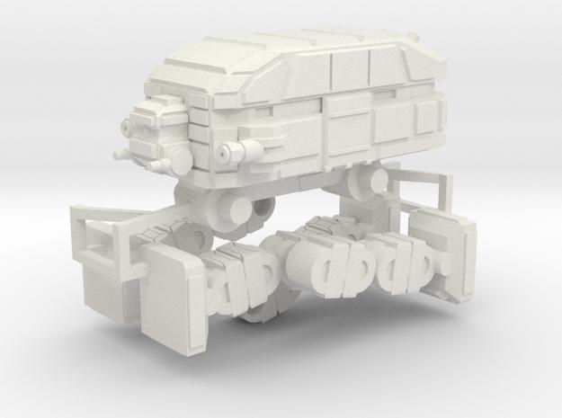 Mammoth (on sprue) in White Natural Versatile Plastic