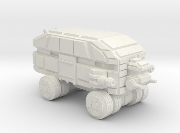 Mammoth Assault Wheeled in White Natural Versatile Plastic