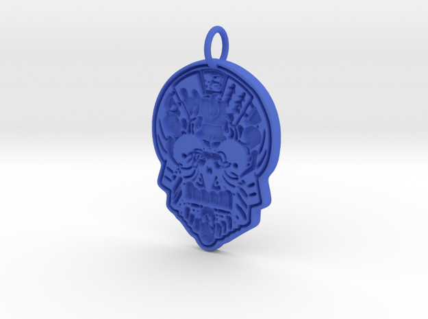 Creator Pendant in Blue Strong & Flexible Polished