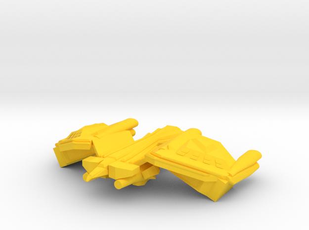 Colour Royal Falcons Rapid Response Combat Carrier in Yellow Processed Versatile Plastic