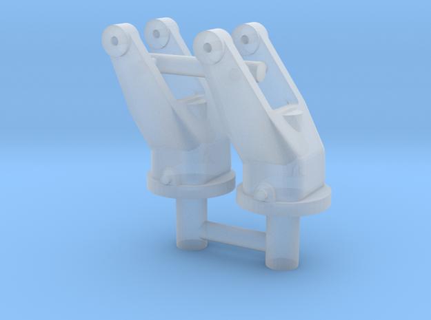 2x 1/16 scale 30cal MG pintle mounts.