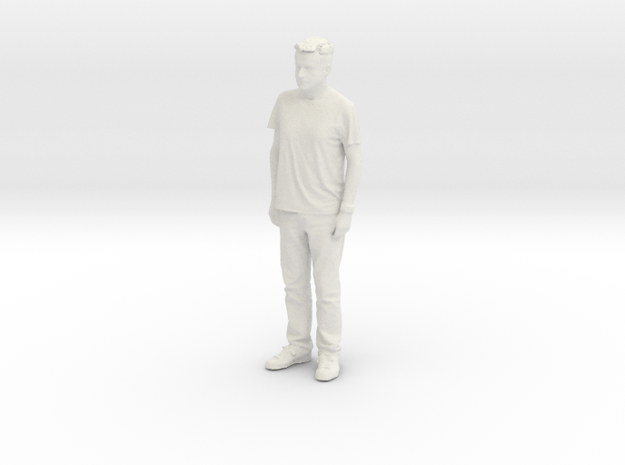 Printle C Homme 125 - 1/24 - wob in White Natural Versatile Plastic