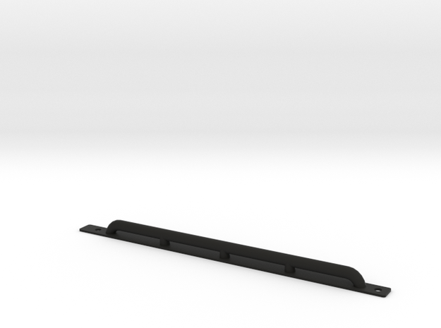 Rock protection side bar D90 Team Raffee in Black Natural Versatile Plastic