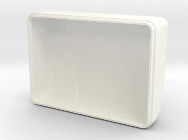 High Rise Bunk Cap (TS-BD-0002) in White Processed Versatile Plastic