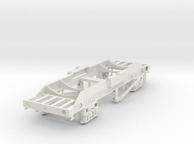 TTA Co2 tank wagon 7mm in White Strong & Flexible